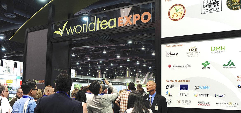 Belgische theeblend op de World Tea Expo