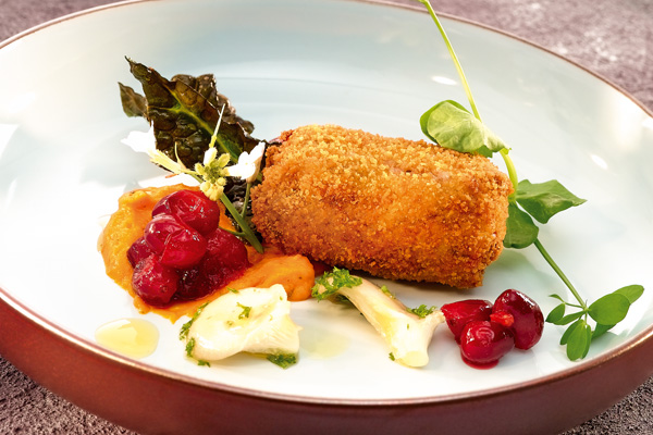 Wildkroket met cranberries