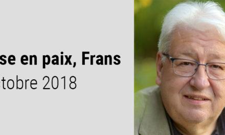 A la mémoire de Frans Rombouts