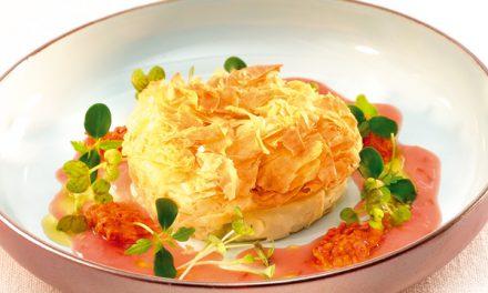 Tartelette de canard au poivron