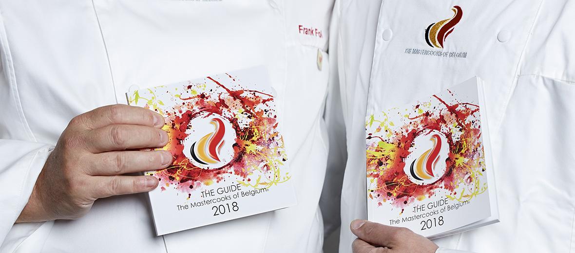 Mastercooks of Belgium: The Guide 2018