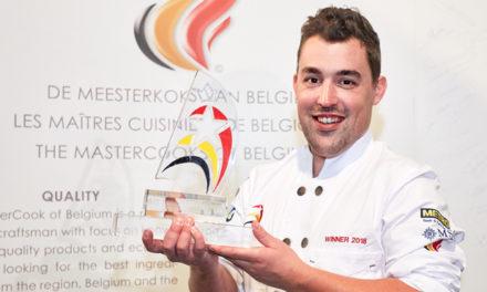 Sam Van Houcke sleept de Etoile de la Cuisine Belge© in de wacht