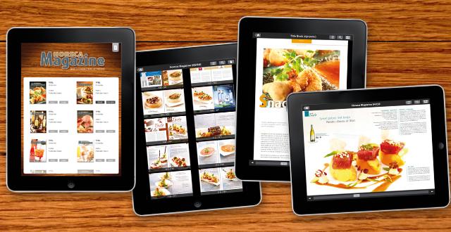 Horeca Magazine elke maand op uw iPad!
