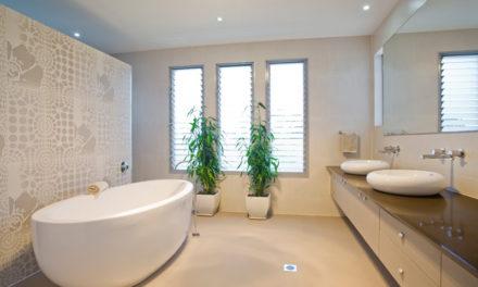 Blinkende badkamer
