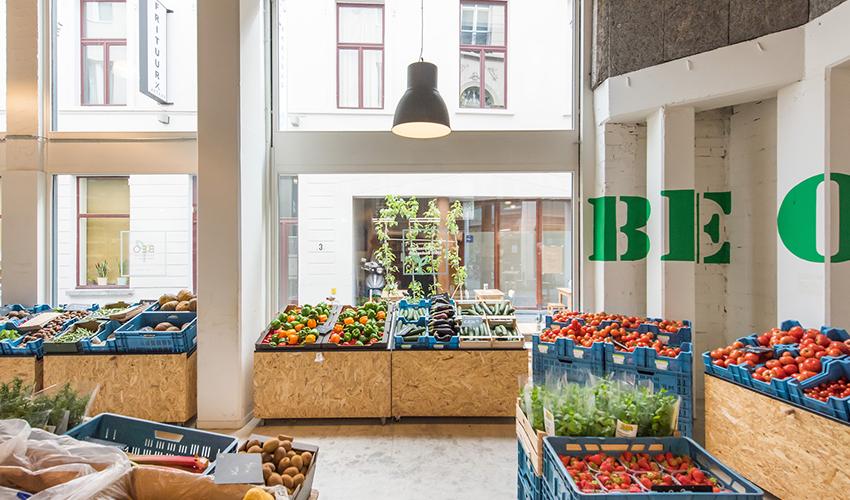 Nieuwe bioversmarkt in Antwerpen