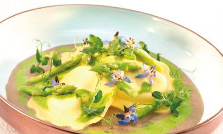 Ravioli aux asperges