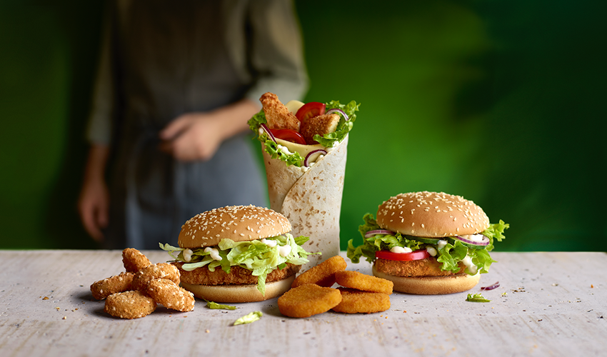 McDonald's 'Make it Veggie'
