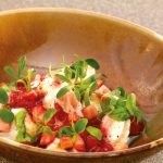 Burrata aux fraises