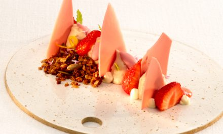 Mousse de Ruby Barry Callebaut