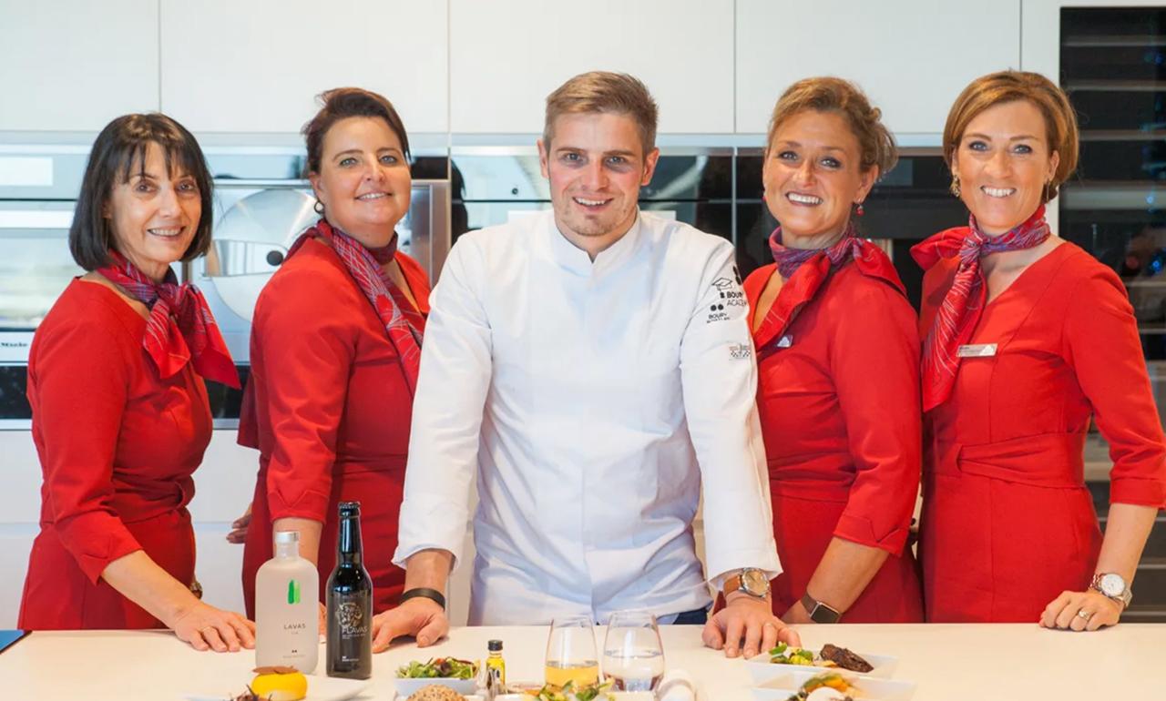Tim Boury, de nieuwe Chef van Brussels Airlines