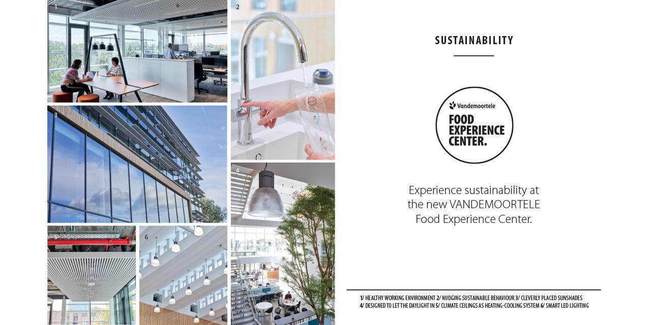 Food Experience Center Vandemoortele