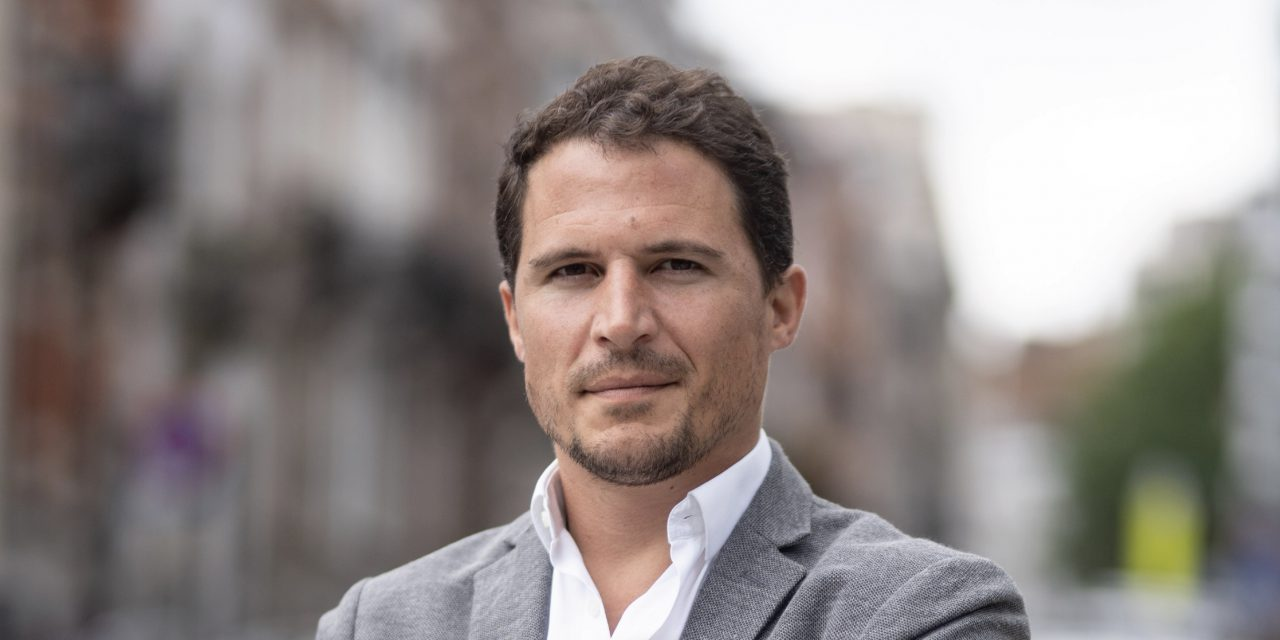 Pierre Verdier – general manager van Deliveroo België