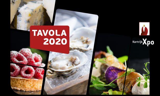 TAVOLA 2020: nieuwe data op 13-14-15 september 2020