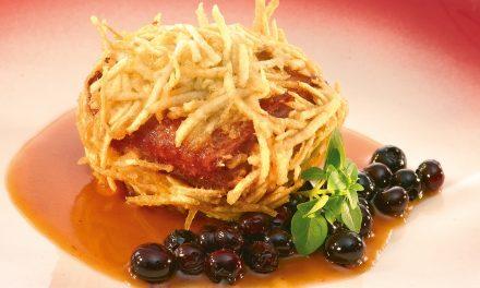 Wilde eend en foie gras
