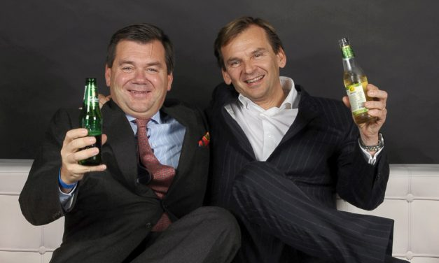 Michel &  Paul Haelterman – CEO HLS, Carlsberg Importers et VA.S.CO