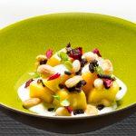 Mangoblokjes met amandel