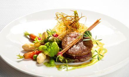 Kalfsvlees met voorjaarsgroenten