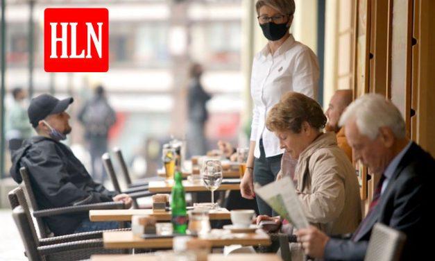 Zo gaat u binnenkort misschien op café of restaurant. Dit is hoe de sector een mogelijke heropstart ziet