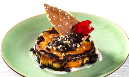 Tartelette à l'ananas et chocolat
