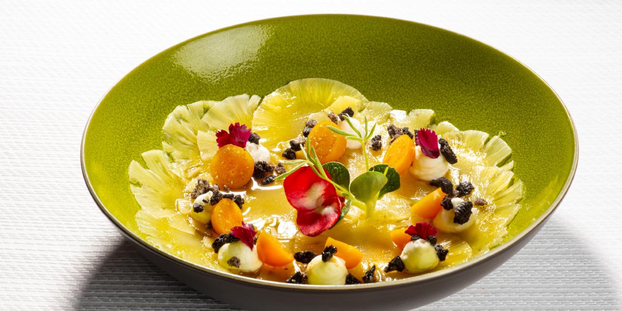 Dessert à l'ananas