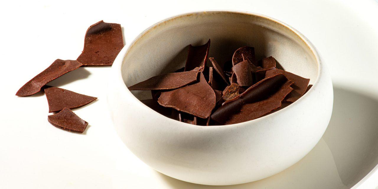 Chocoladechips met fleur de sel