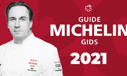Le Michelin BELUX 2021 est sorti