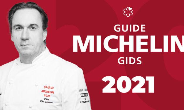 De Michelin BELUX 2021 is uit