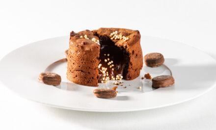 Chocolade moelleux met Oreo