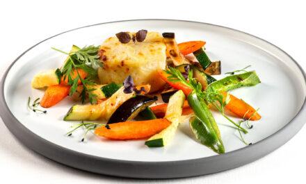Provençaals geïnspireerd vegetarisch bordje