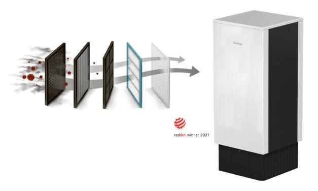 Une filtration maximale de l'air avec l'AirControl de Miele