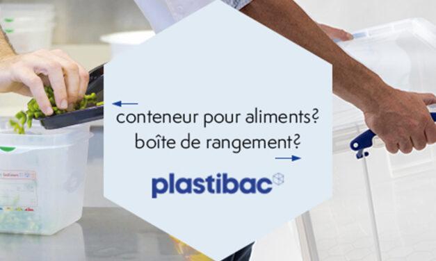 Plastibac récipients de stockage et boîtes de rangement