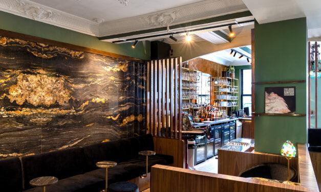 Velours-Bar à Halle : le projet liquide d'Andy De Brouwer